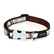 Load image into Gallery viewer, Red Dingo Circadelic Dog Collar