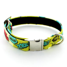 Load image into Gallery viewer, Comic Strip Dog Collar
