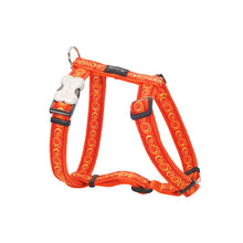 Load image into Gallery viewer, Red Dingo Cosmos Orange Dog Harness