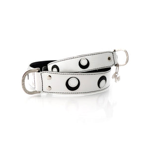 Hamish McBeth Leather Eclipse Dog Collar