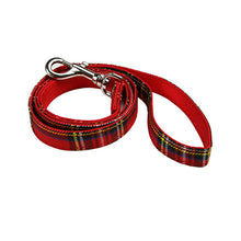 Load image into Gallery viewer, Urbanpup Tartan Fabric Lead