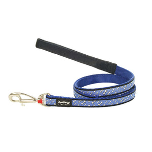 Red Dingo Flying Bones Dog Lead