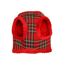 Load image into Gallery viewer, Urbanpup Luxury Fur Lined Tartan Harness