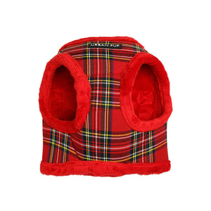 Urbanpup Luxury Fur Lined Tartan Harness