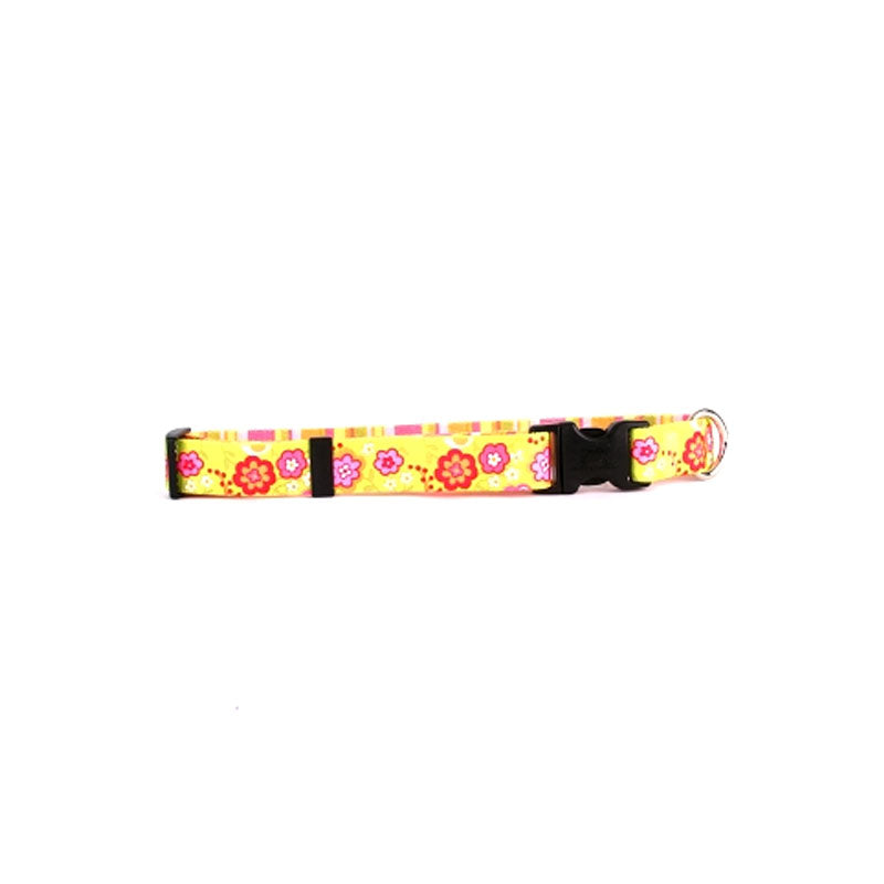 Yellow Dog Design Green Bouquet Standard Collar