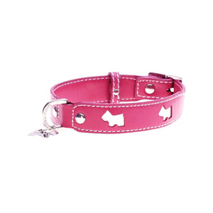 Hamish McBeth Leather - Hamish Dog Collar