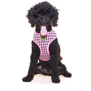 Houndstooth Dog Harness