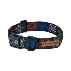 Dublin Dog Winter Wonders Urban Ice Eco Lucks Dog Collar