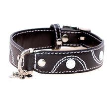 Load image into Gallery viewer, Hamish McBeth Leather Keado Dog Collar