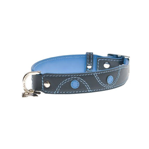 Hamish McBeth Leather Keado Dog Collar