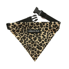 Load image into Gallery viewer, Urbanpup Leopard Bandana