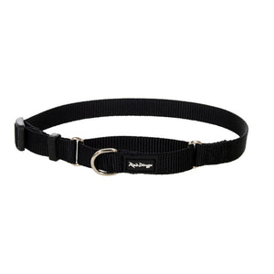 Red Dingo Half Check (Martingale) Collar - Black Small