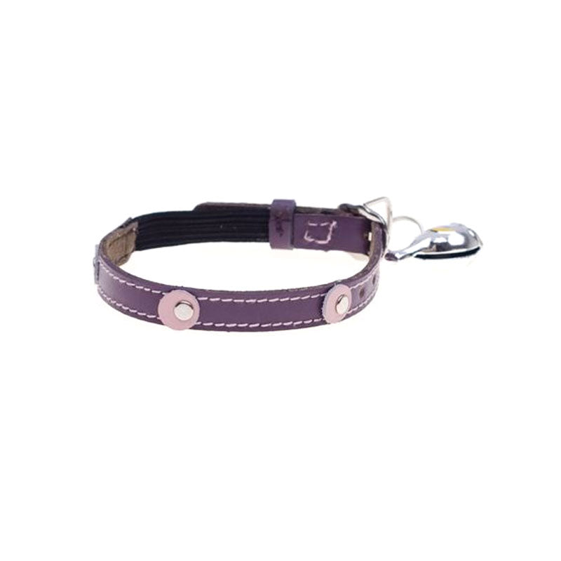 Hamish McBeth Moet Leather Cat Collar