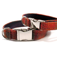 Load image into Gallery viewer, My McDawg Orange & Olive Dog Collar