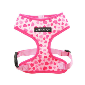 Urbanpup Pink Hearts Harness