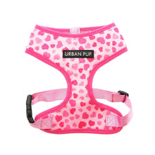 Load image into Gallery viewer, Urbanpup Pink Hearts Harness