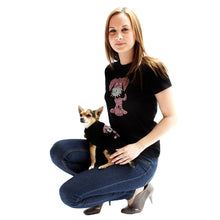Load image into Gallery viewer, UrbanPup GlamourGlitz Dog T-Shirt