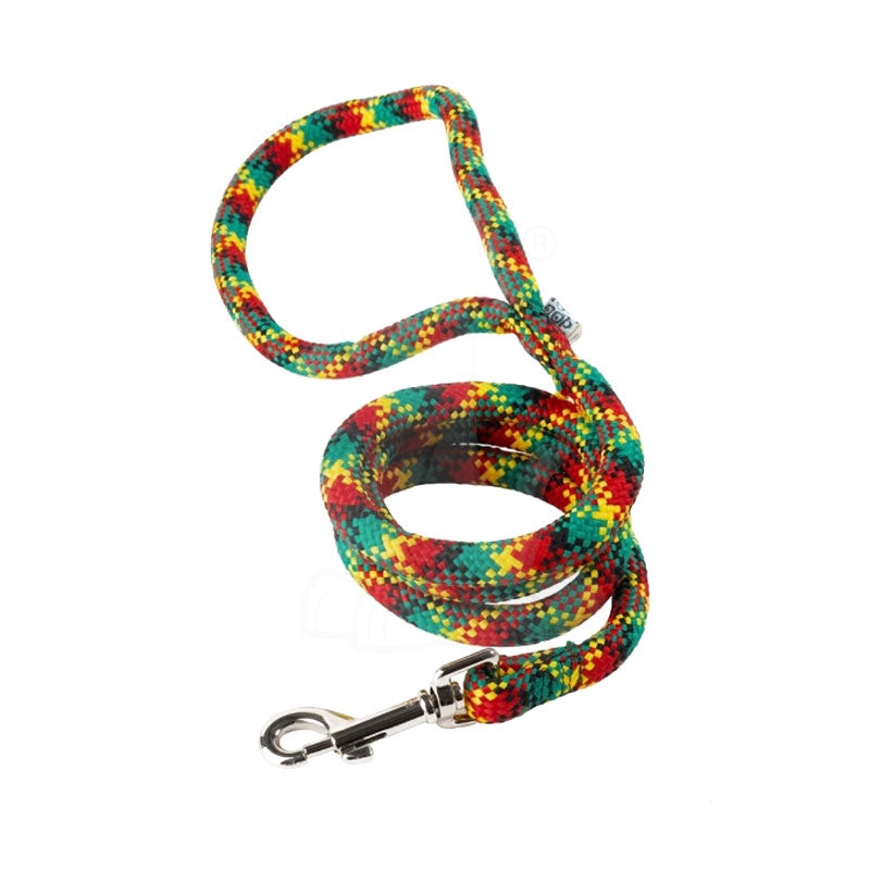 Yellow Dog Design Rasta Braided Lead