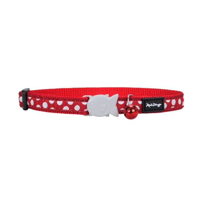White Spots Cat Collar