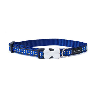 Lots a Bones Reflective Dog Collar