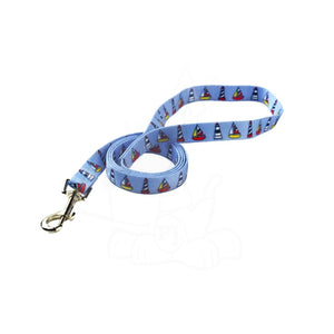 Yellow Dog Design Sailboats & Lighthouses Dog Lead