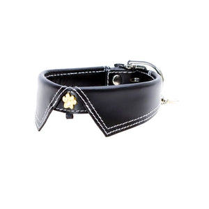 Hamish McBeth Leather Savile Row Dog Collar