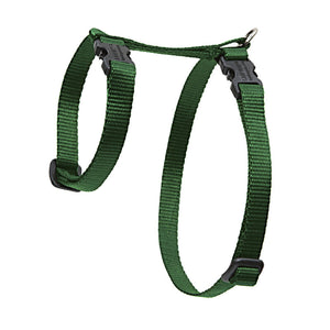 Lupine Solid Colour H-Style Cat Harness