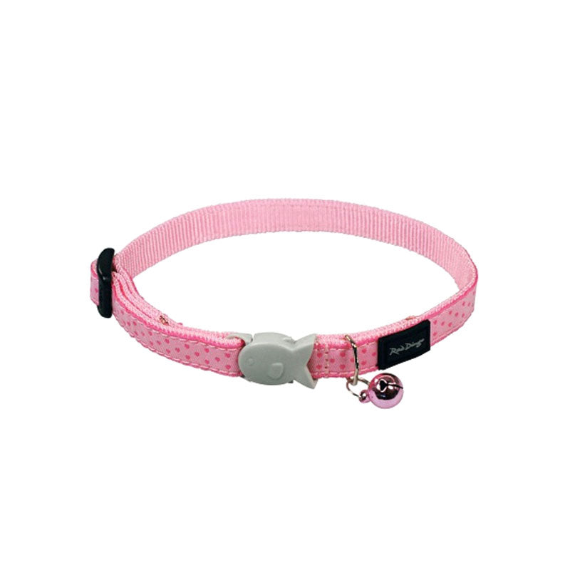 Red Dingo Love Sprinkles Pink Cat Collar