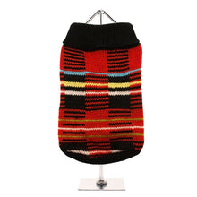 Load image into Gallery viewer, Striped Tartan Sweater