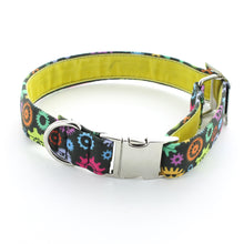 Load image into Gallery viewer, Tick Tock Dog Collar
