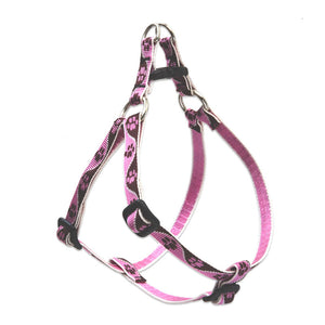 Tickled Pink Step In Harness
