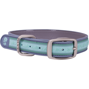 Dublin Dog All Style No Stink Wild Flower Water Lily Waterproof Dog Collar