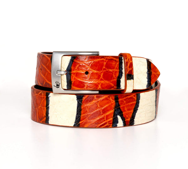 """Clownfish"" Hand-Painted Belt"