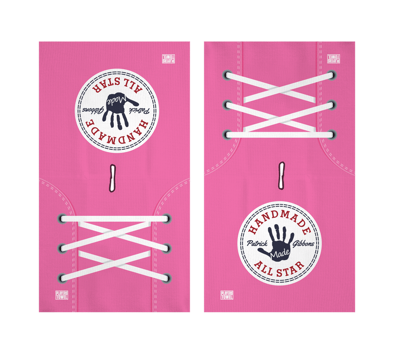 "Limited Edition Pink ""All-Star"" Golf Towel"