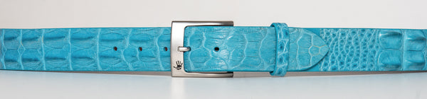 Women's Custom Salt Water Crocodile Belt