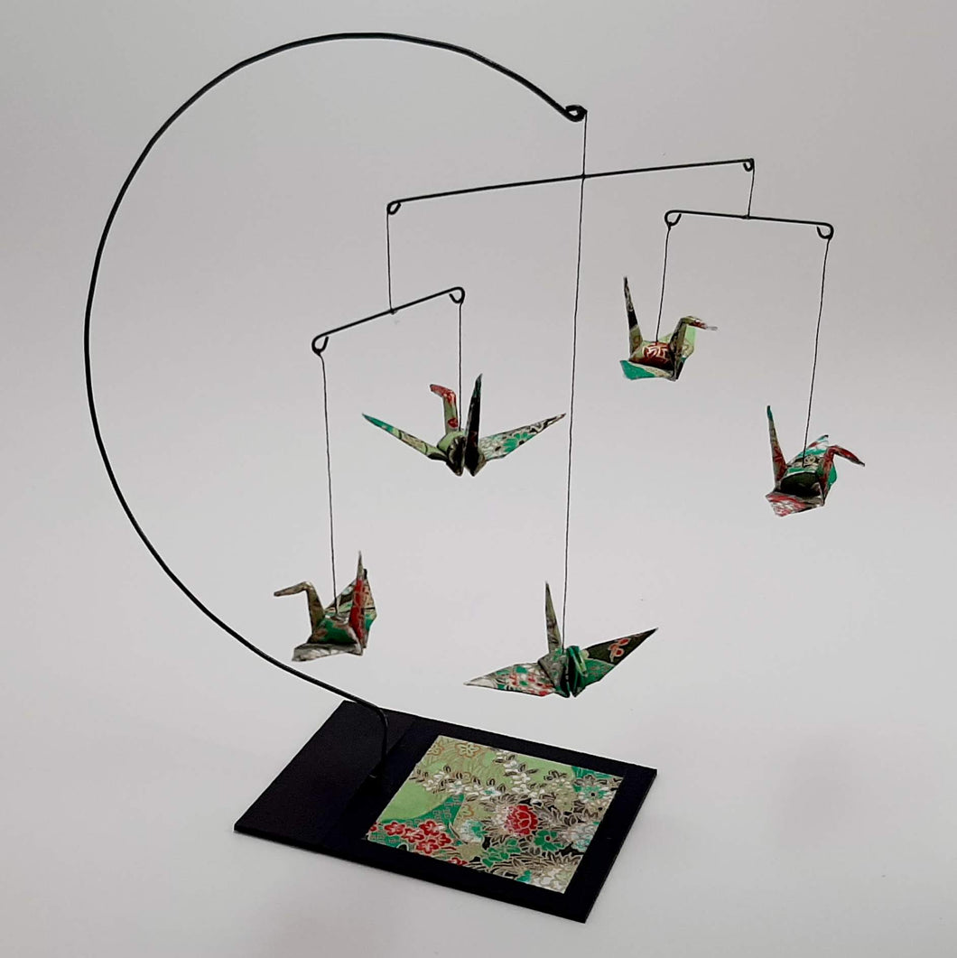 Desktop Crane Mobile - Green