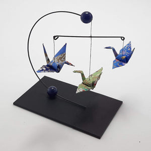Mini Crane Mobile - Sodalite