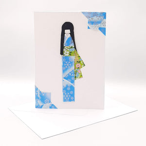 Tall Girl Card Blue