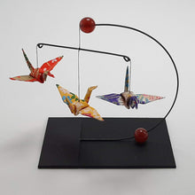 Load image into Gallery viewer, Mini Crane Mobile - Carnelian
