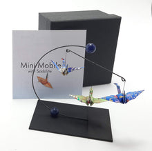 Load image into Gallery viewer, Mini Crane Mobile - Sodalite