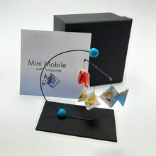 Load image into Gallery viewer, Mini Fish Mobile - Turquoise