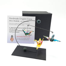 Load image into Gallery viewer, Mini Crane Mobile - Chrysocolla