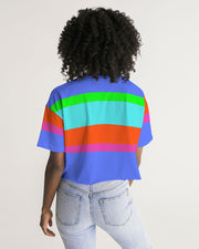 Bahama Colorblock Cropped Tee