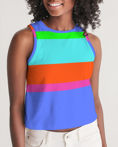 Bahama Colorblock Crop Tank