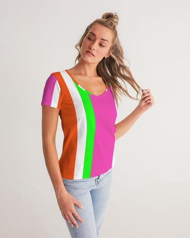 Candy Stripe Women's Tee