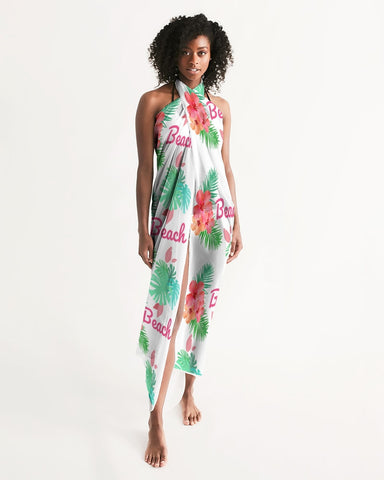 Beach Flora Swimsuit Cover Up