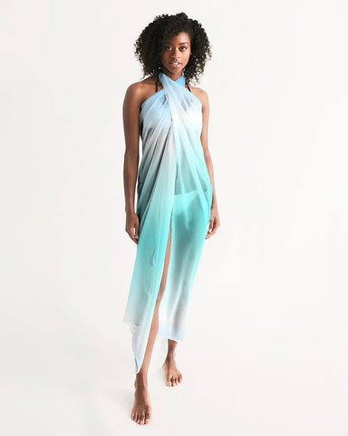 Ocean Blue Ombre Swimsuit Cover Up