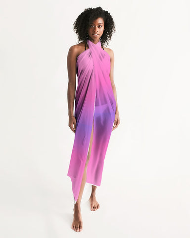 Pink Lilac Ombre Swimsuit Cover Up