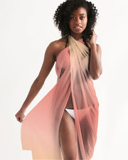 Peach Ombre Swimsuit Cover Up