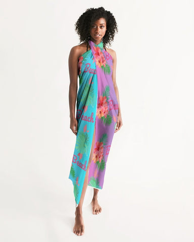 Beach Flora Ombre Swimsuit Cover Up